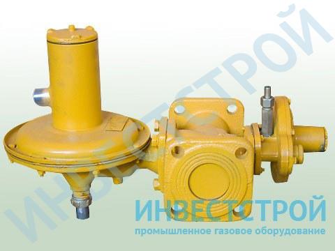 Регулятор давления газа комбинированныq РДНК-50