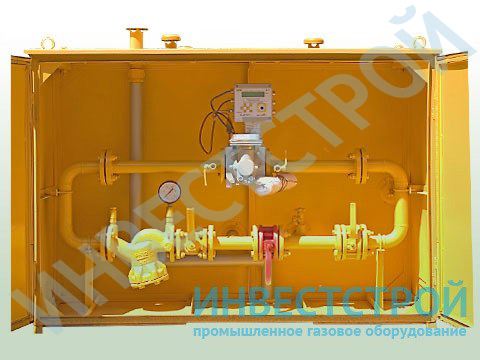 оборудования для учета расхода газа